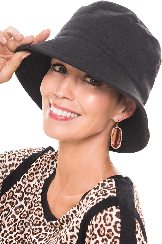 THE HAT DEPOT 200h-5923 Applejack Style Angora Premium Quality Sherpa Lining Applejack Hat