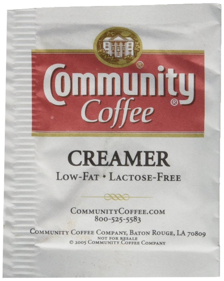 Community Coffee Creamer Bulk Pack Packets, 1000 Count by Community Coffee