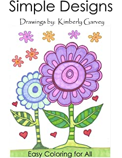 Simple Designs A Laid Back Coloring Book
