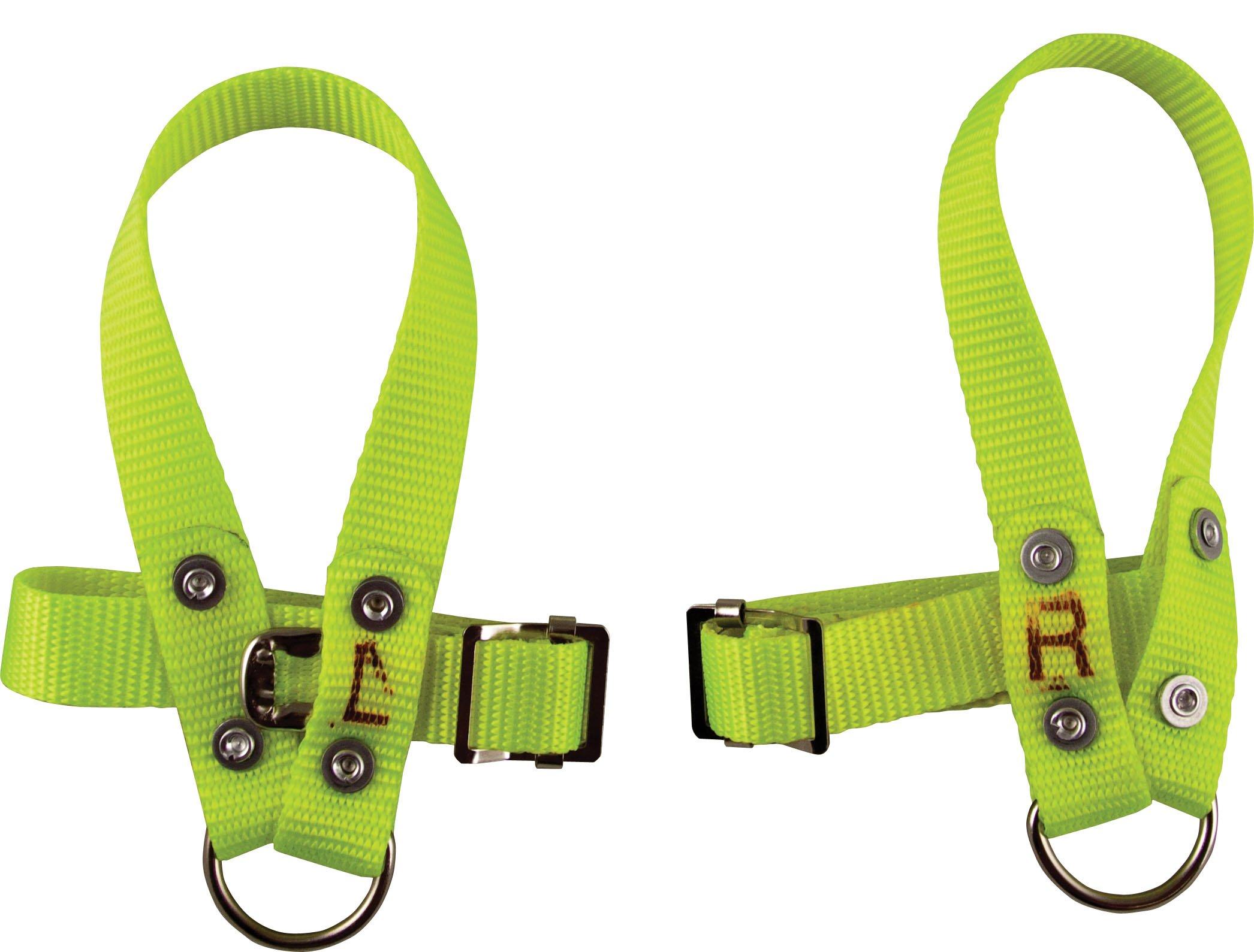 Safety Nylon Wristlets (XL Pair) for Press Brakes