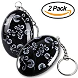 Amazon Price History for:2 Pack Mengde 120db Emergency Personal Alarm Keychain for Women,Kids,Girls,Superior,Explorer Self Defense Electronic Device Bag Decoration