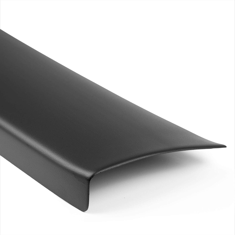 Aroba AR412 Ladekantenschutz kompatibel f/ür Volvo XC90 ab BJ 06.2006 bis 01.2015 Sto/ßstangenschutz passgenau mit Abkantung ABS Farbe schwarz