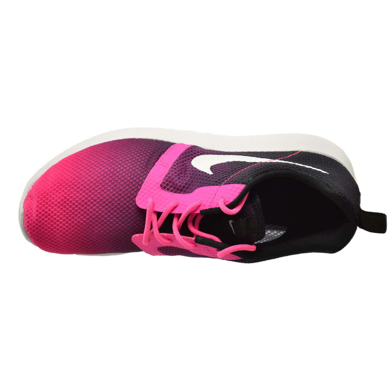 Nike Chaussures Junior Roshe Courir Vélo Noir Violet Rose heU159BU1M