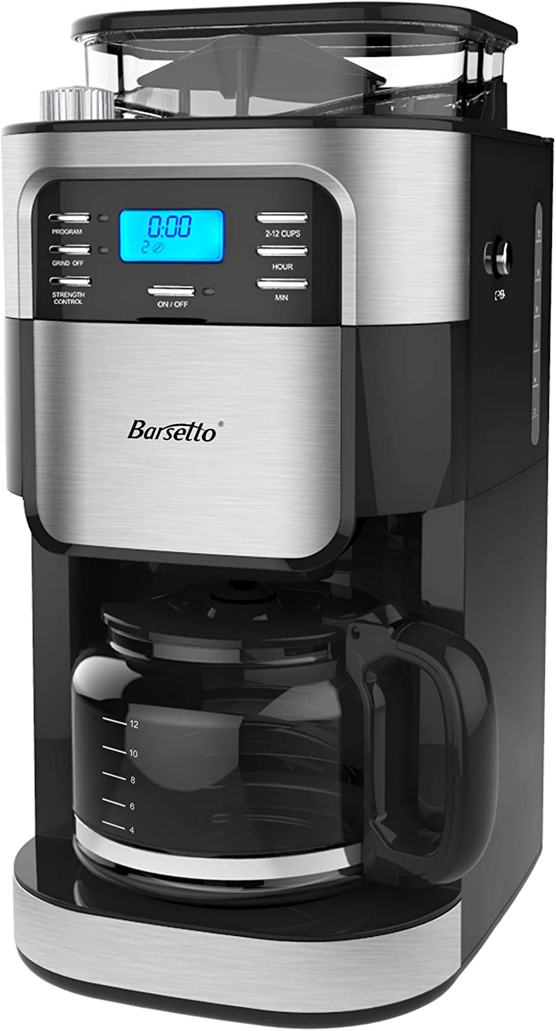Barsetto Grind and Brew CM1025