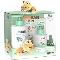 ISDIN Baby Naturals Canastilla Maxi, Gel Champú 400 ml, Loción Corporal 200 ml, Pomada Pañal Regeneradora 100 ml y…