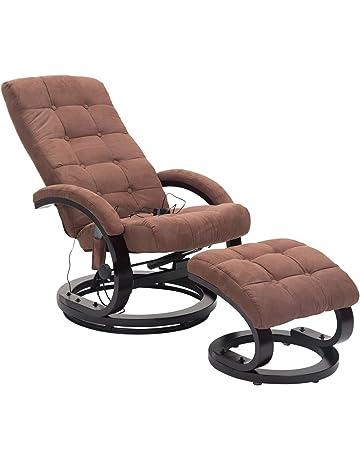 HOMCOMR Massagesessel TV Sessel Relaxsessel Fernsehsessel Mit Heizfunktion 2 Farben