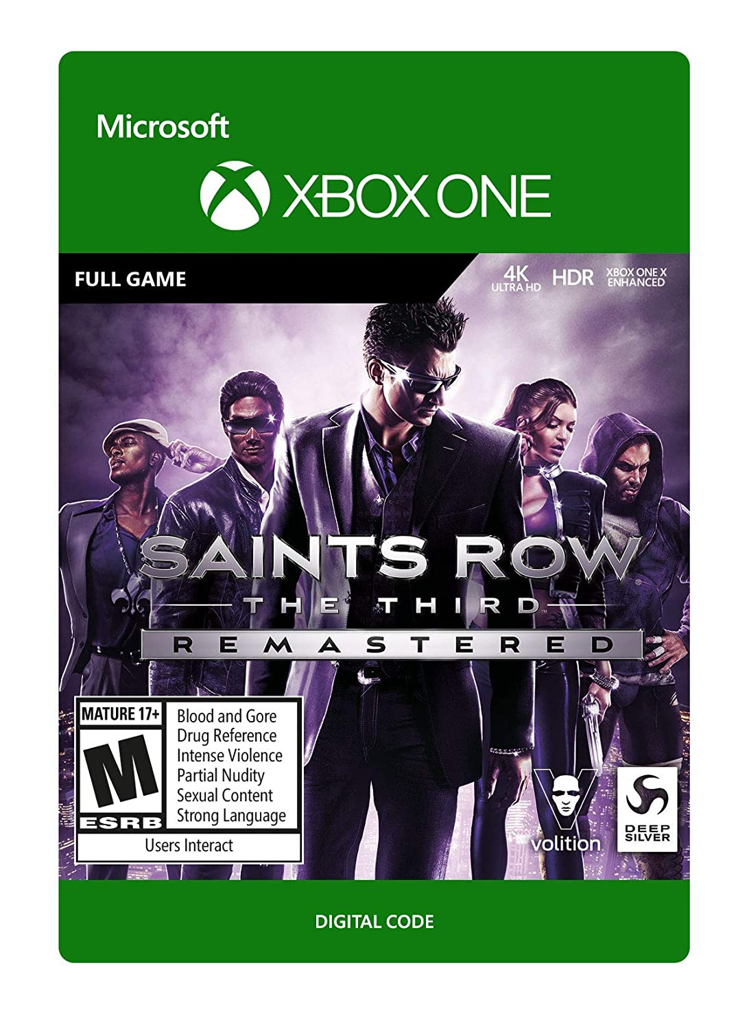 Saints Row The Third Remastered - Xbox One [Digital Code]