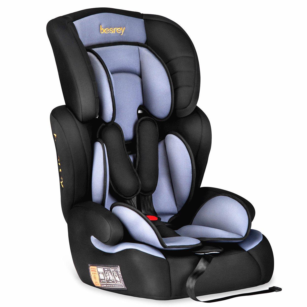 Besrey silla de coche para bebe Grupo 1 2 3 tres en uno silla coche 9 a 36 kg - 9 meses a 12 years Normativa Europea ECE … ZK505A