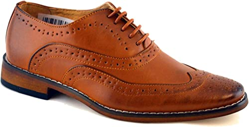 Goor Boys Leather Lined Lace Up Wedding