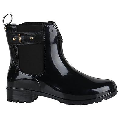 Stiefelparadies - Zapatillas para mujer, color Negro, talla 36