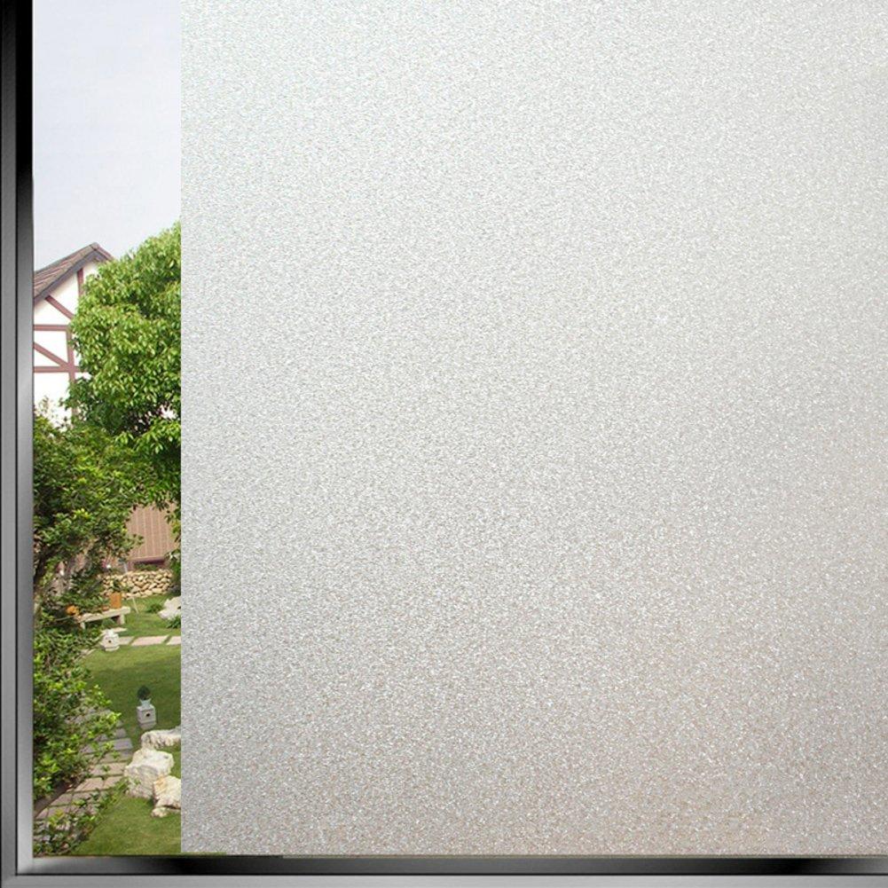 Pellicola per finestre vetrofania pellicola solare elettricità statica colla luce opaco bagno-A 20x200cm(8x79inch) WASCBHQ