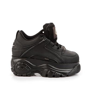 7e1af46e0b56 New Buffalo Classic Boots 1339-14 BLACK Platform Shoes Trainers Sizes UK  3-8 (UK 9   EU 42