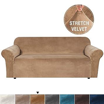 Amazon.com: H.VERSAILTEX Funda de sofá de terciopelo para el ...
