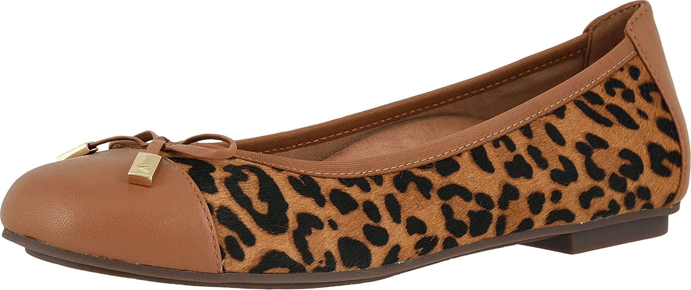 Vionic Minna Tan Leopard | Flats
