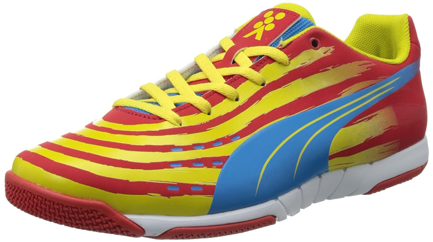 PUMA メンズ B00DOL3NC4High Risk Red/Blue Aster/Vibrant Yellow/White 12 mens_us