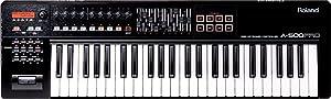 Roland A-500PRO-R 49-key MIDI Keyboard Controller, Black
