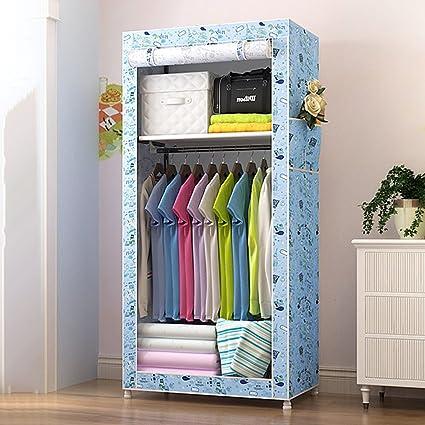 Amazoncom Bedroom Wardrobes Portable Clothes Closet Non
