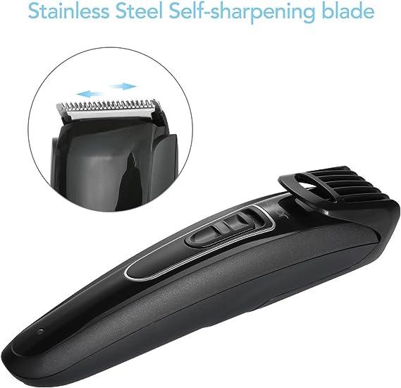Kebor - Cortapelos eléctrico para barba y hombre, maquinilla de ...