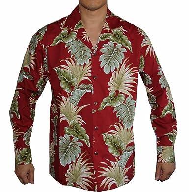 03cc7530b6b7 Men s Long Sleeve Tradition of Aloha Hawaiian Shirt at Amazon Men s ...