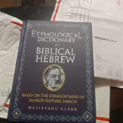 Etymological Dictionary of Biblical Hebrew: Based on the