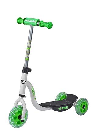 Hudora - Kiddy Scooter Joey 3.0, color blanco/verde: Amazon ...