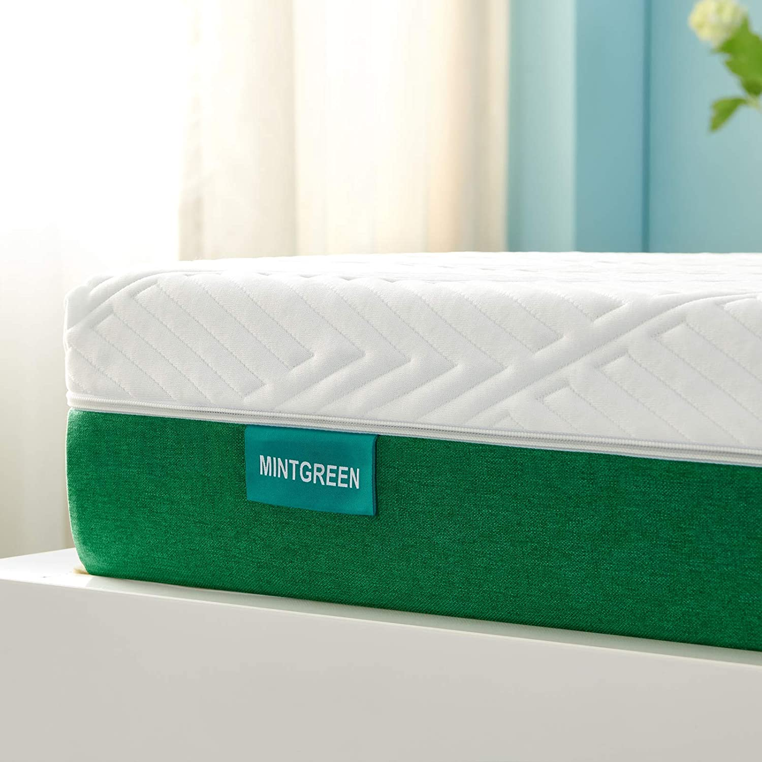 Twin MattressMintgreen 8 Inch Memory Foam Mattress in a Box Breathable Bed Comfortable Mattress with CertiPUR-US Certified Foam for Sleep Supportive & Pressure Relief Twin Size Mattress 39