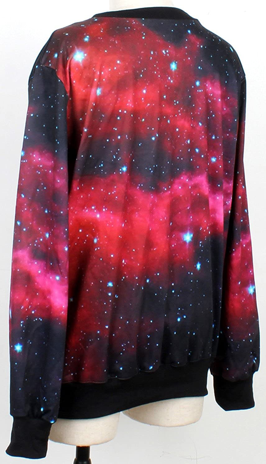 Sister Amy Womens Halloween Print Crew Neck Pullovers Sweater Sweatshirts Cats One Size