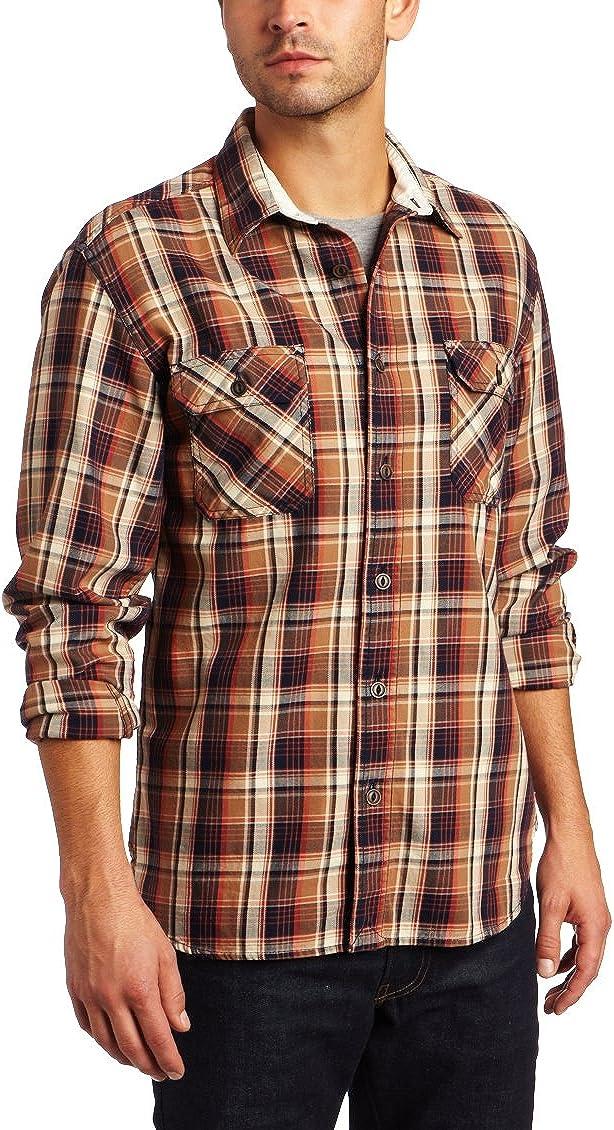 Lucky Brand Mens Ridge Plaid Workwear
