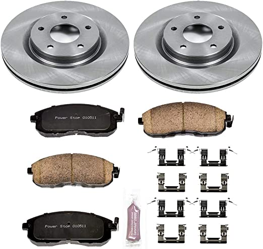 Front Power Stop KOE4602 Daily Driver OE Brake Kit Autospecialty
