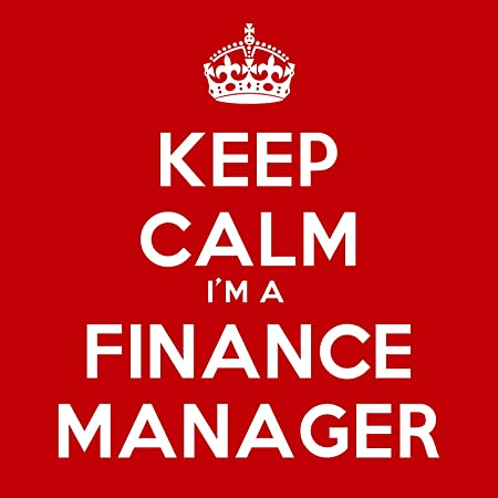 keep calm i m a finance manager coaster 9cm square amazon co uk