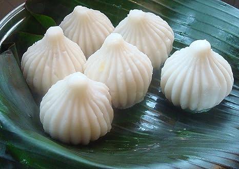 Amazon com: Modak Mold/Ganesh Chaturthi Recipe (Aluminium Modak Mold