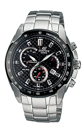 d4af9f538cab Image Unavailable. Image not available for. Color  Casio Men s EF521SP-1AV  Edifice Retrograde Analog Chronograph Watch