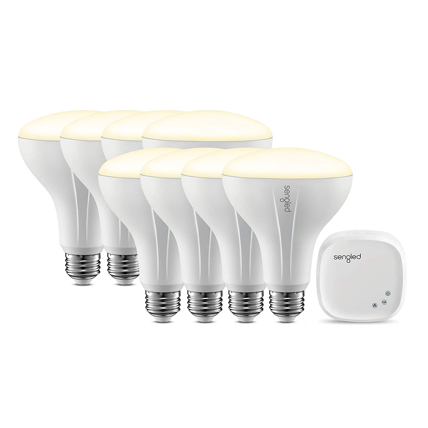 Sengled E29-NA09D Smart LED Starter Kit BR30 White