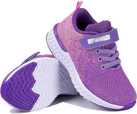 Torotto - Zapatillas de deporte para niños y niñas, transpirables, con cierre de velcro: Amazon.es: Zapatos y complementos