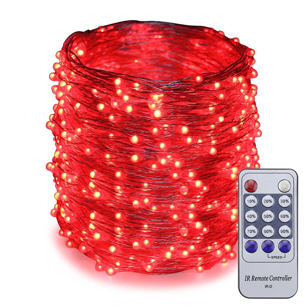 ER CHEN(TM) 165ft Led String Lights,500 Led Starry