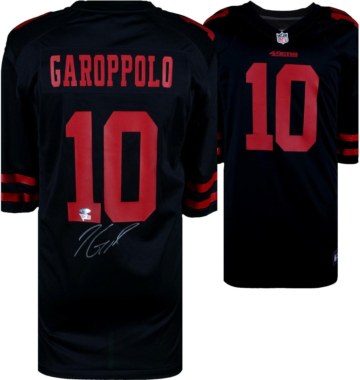 Jimmy Garoppolo San Francisco 49ers Autographed Black Nike Game ...