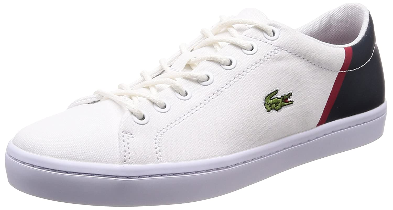35cam0100042 Übergrößen Herrenschuhe Lacoste Sneaker 7 Große In Weiß CoedrxB