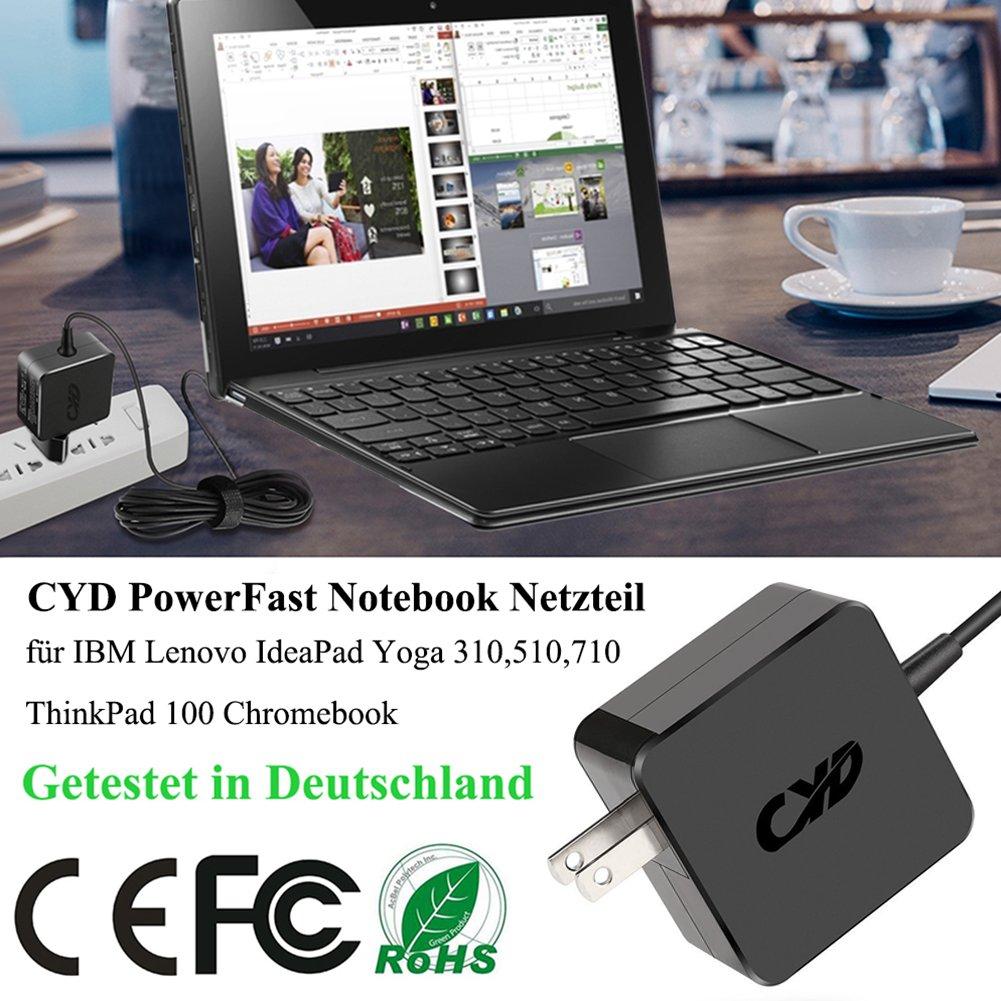 Amazon.com: Cyd - Cargador portátil para lenovo ideapad 100 ...