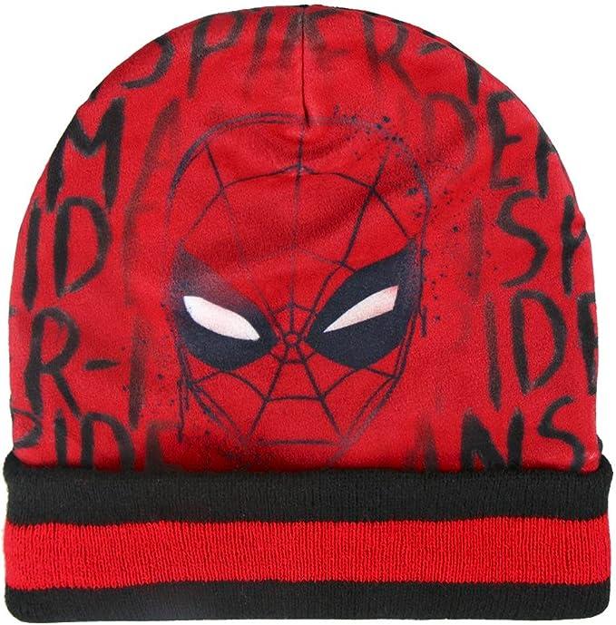 Spiderman 22-2542 Pack 3pz completo para invierno motivo Gorro ...