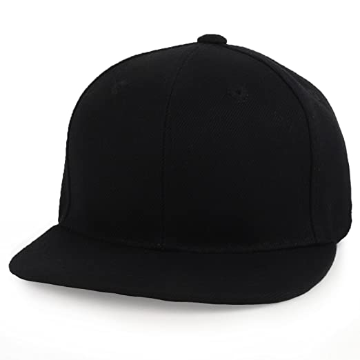 43c1f4970 Trendy Apparel Shop Infant to Toddler Kid's Plain Structured Flatbill  Snapback Cap