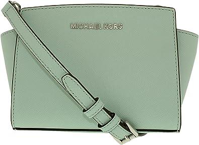 7e08ed7faf030b MICHAEL Michael Kors Women's Selma Mini Messenger Bag, Celadon, One Size