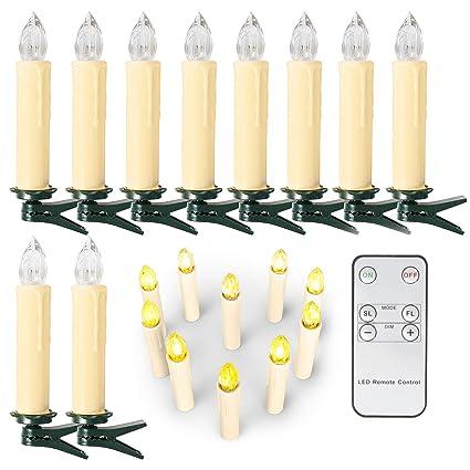 Lichterkette Weihnachtsbaum Kabellos.10 20 30 40 Er Weinachten Led Kerzen Lichterkette Kerzen Weihnachtskerzen Weihnachtsbaum Kerzen Mit Fernbedienung Kabellos Beige 20er
