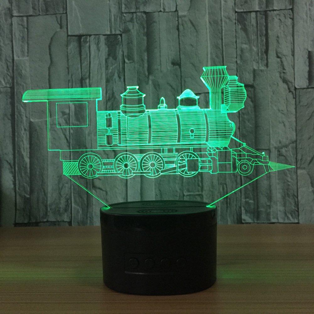 Led Licht 3D Buntes Delphin Licht Led Touch 3D Nachtlichter Gradient Visuelle Dreidimensionale Lampen Neuheit Leuchten