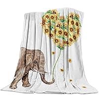 Flannel Fleece Throw Blankets Luxury Microfiber Lightweight Super Warm Soft Throw...