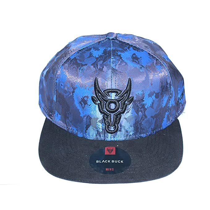 c0ac6fb89dd BlackBuck Blue Color Hip Hop Cap for Men (Blue)  Amazon.in  Clothing ...