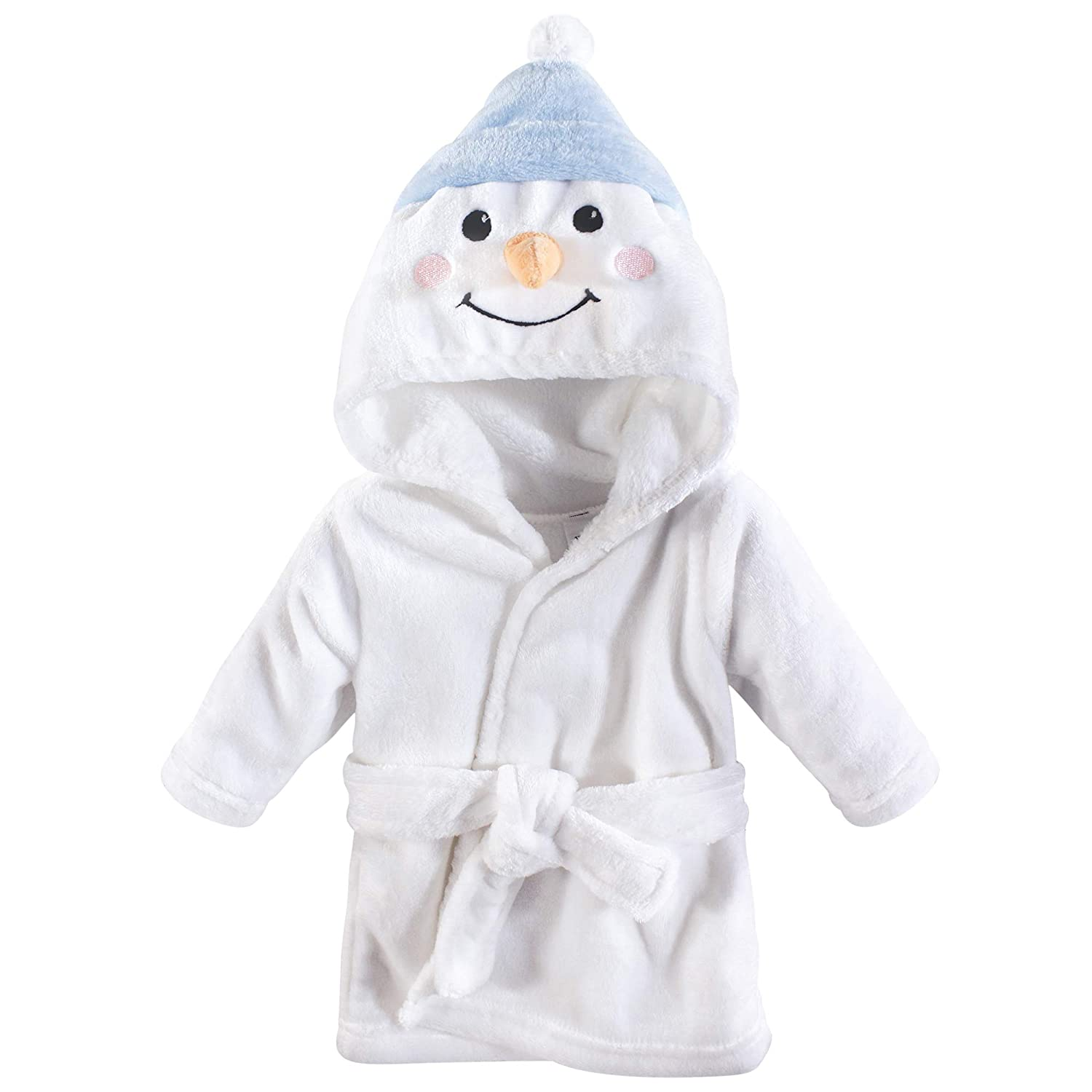 Bunny Hudson Baby Unisex Baby Plush Animal Face Robe 0-9 Months One Size