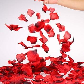 180pc Red Rose Petals Honeymoon Rose Confetti Romantic 50 Shades Anniversary