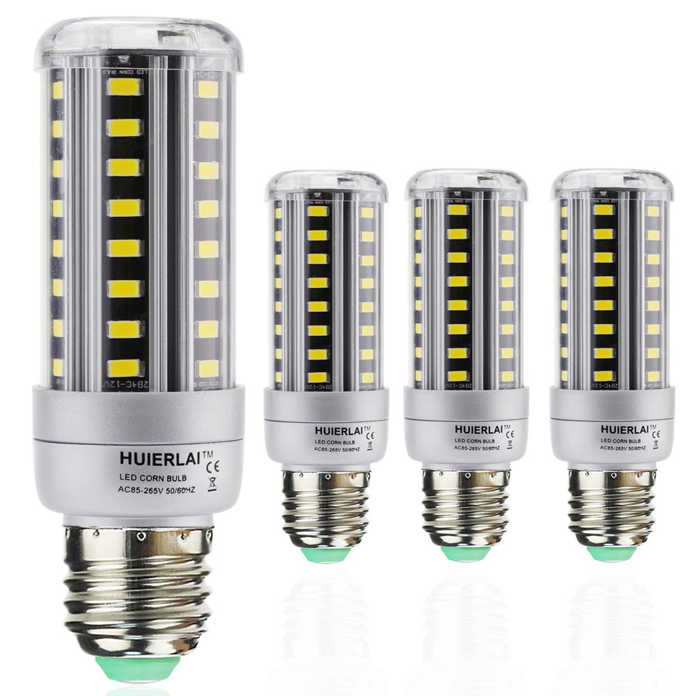 4x E27 LED Mais Birne Beleuchtung 12W LEDs Leuchtmittel Maiskolben ...