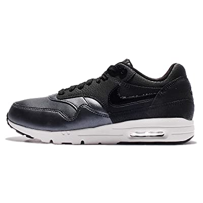 Nike Women's Air Max 1 Ultra SE Running Shoe, Black/Metallic-Hematite, 8 | Road Running