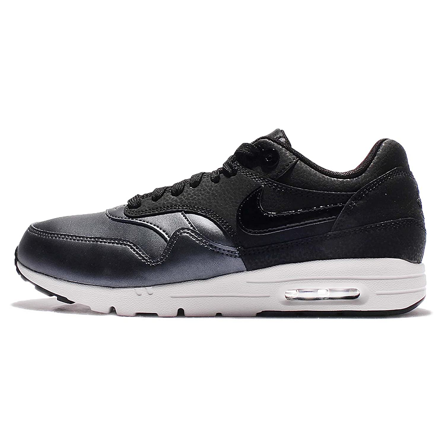 New Arrival Nike Air Max 1 Nike Air Max 1 Ultra Se Premium Black Unisex Shoes Online Store